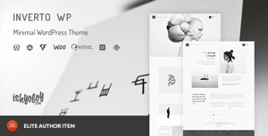 Inverto WP – Minimal WordPress Theme