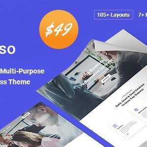 JUAL Kolaso - Modern Multi-Purpose WordPress Theme