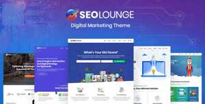SEOLounge – SEO Agency WordPress Theme